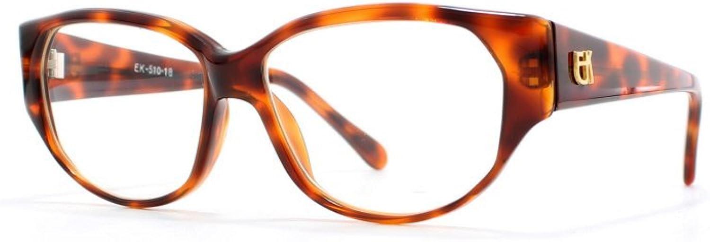 Emmanuelle Khanh 510 18 Brown Authentic Women Vintage Eyeglasses Frame