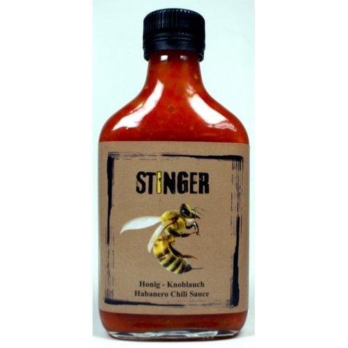Suicide Sauces - Stinger - Honig und Knoblauch treffen Habanero - Hot Sauce - 200ml