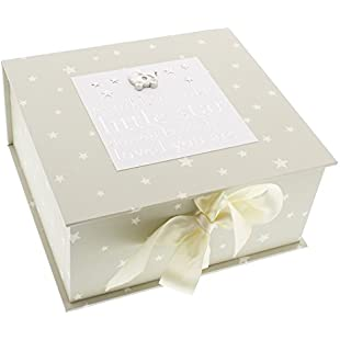 Bambino By Juliana Baby Gift - Twinkle Twinkle Little Star Keepsake Box - CG1059