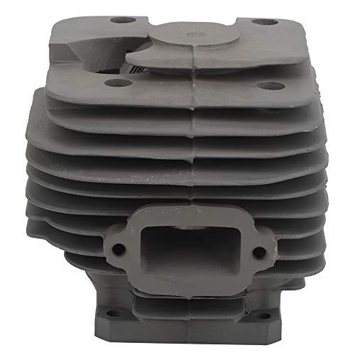 Kit de cilindro, cilindro de motosierra, aluminio duradero de alta dureza resistente al desgaste para motosierra de ferrocarril