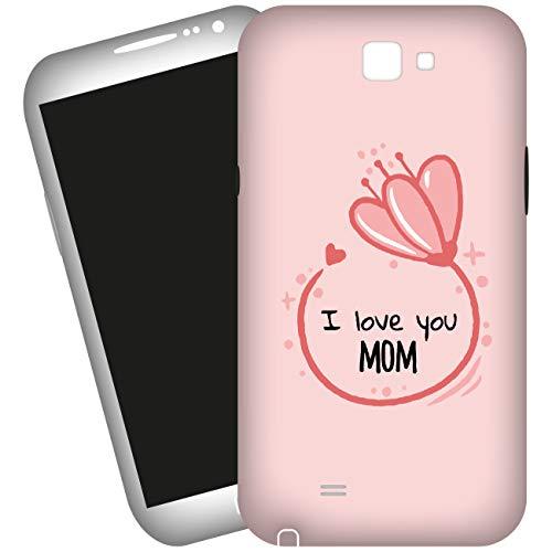 My Custom Style Cover 3D #Mamma - I Love You# per Apple iPhone 5-5S