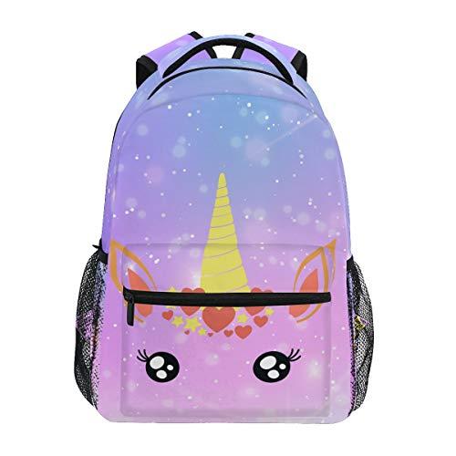 Unicorn Backpack Galaxy BookBag for Boys Girls Elementary School 2021903