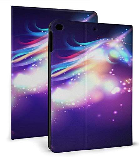 Magical Bling Unicorn PU Funda Inteligente de Cuero con función de Reposo / activación automática para iPad Mini 4/5 7,9 'y Funda para iPad Air 1/2 9,7'
