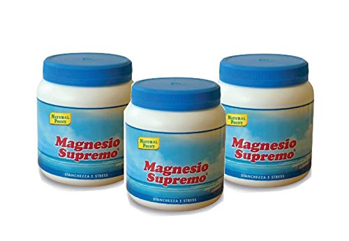 Natural Point Magnesio Supremo Polvere Solubile 300 Grammi - 3 Confezioni