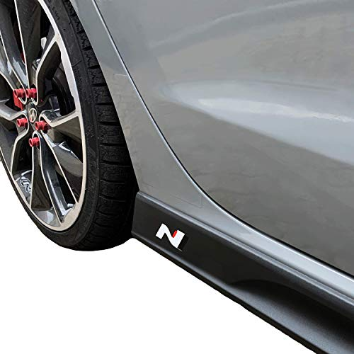 Set Pour Hyundai Kona ab2017 Seuils seuil carbone 3d noir