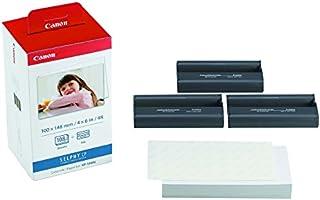 """Canon 3115B001(AA) - Papel fotográfico y cartucho de tinta original (108 hojas, 4x6""""), Multicolor, 1 Pack"""