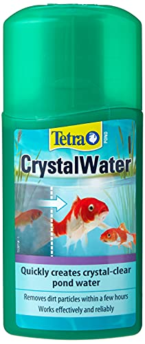 Agua de cristal Tetra Estanque, elimina eficazmente el agua sucia del estanque.