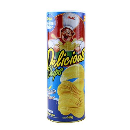 TOYMYTOY Pop-up Schlange Spielzeug Kartoffelchip Springteufel Witz Spielzeug (Zufällige Farbe)