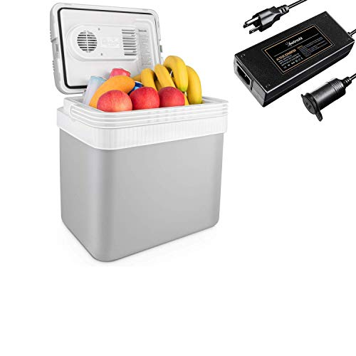 AstroAI Mini Car Fridge 24L Cooler and 8.5A Converter, not only Available in Car, but Also at Home