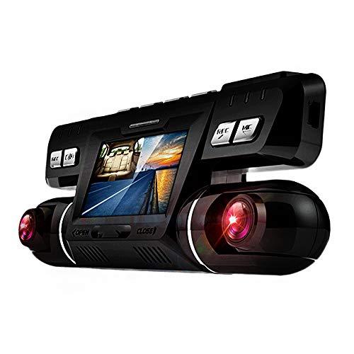 Cámara de automóvil grabadora de conducción oculta con lente de gran angular de 170 °, monitoreo de estacionamiento, grabación de bucle, conexión de red, adecuado para todos los autos