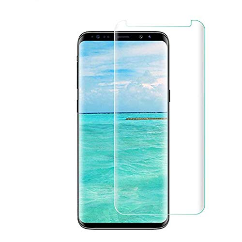 [2 - Pack] Samsung Galaxy S8 Tempered Glass Screen Protector with Camera Lens Tempered Glass Protector,9H Hardness,Anti-Fingerprint,Ultra-Clear,Bubble Free Screen Protector Compatible S8