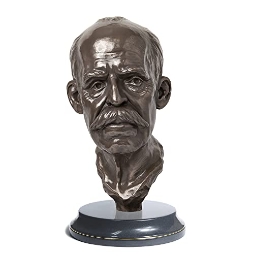 Ruy Barbosa   Escultura   Busto   Jurista Brasileiro   decoração, busto, presente, advogados, direito   Escultor André Waiga