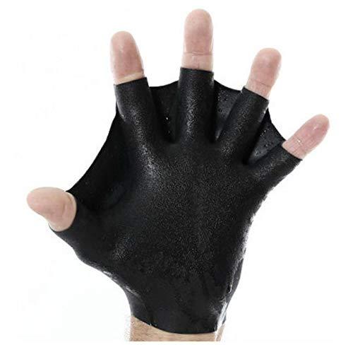 DarkFin Short Webbed Swimming Gloves (1 Pair) for...