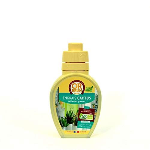 Engrais liquides Cactus et Plantes Grasses Or Brun, 250 ML UAB