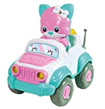 Clementoni 61719 Kitty RC Vehicle-Interactive and Talking Toy (English Version) -Remote Control car, 2 Years and Older, Multi-Coloured