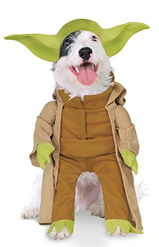 Rubies Costume Star Wars Kollektion Pet Kostüm, Yoda mit Armen, Small, grün