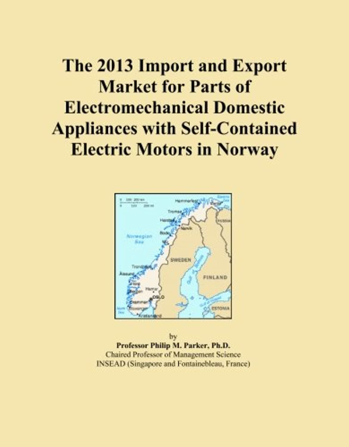 The 2013 Import and Export Market for Parts of Electromechanical Domestic Appliances with Self-Contained Electric Motors in Norway