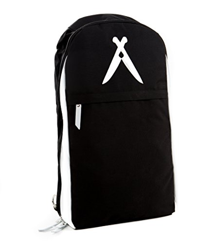 ExecuChef Knife Roll Bag | 19 Pockets for Knives and Kitchen Utensils | Water Resistant and Durable Ballistic Nylon | Lightweight Backpack for Professional Chefs and Culinary Students