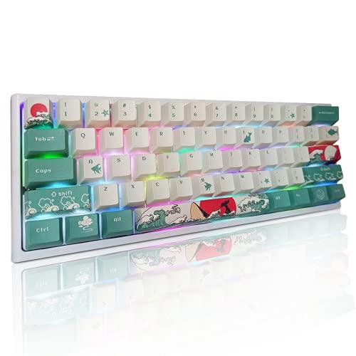 XVX PBT Keycaps, OEM Profile Custom Keycap, Dye Sublimation Upgrade Japanese Keycaps, Full 108 Key...