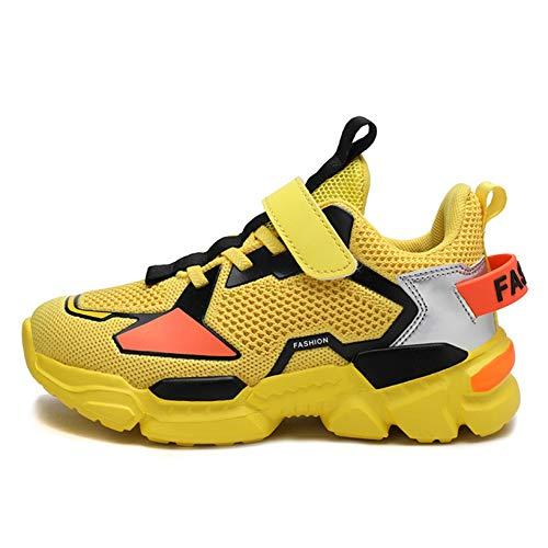 Zapatos Deportivos Casuales para niños Zapatillas de Deporte de Malla Transpirables y Ligeras Zapatillas cómodas para Caminar y Correr para niños