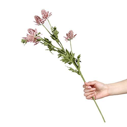 Künstliche Rosen HXF- Gefälschte Blumen Simulation Bouquet Dekoration Wohnzimmer Tisch Gefälschte Blume Blumengesteck Dekoration Deko-Idee Mode (Color : Pink, Size : One)