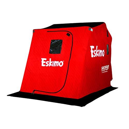 Eskimo Sierra Series Portable Ice Fishing Flip Style Shelter