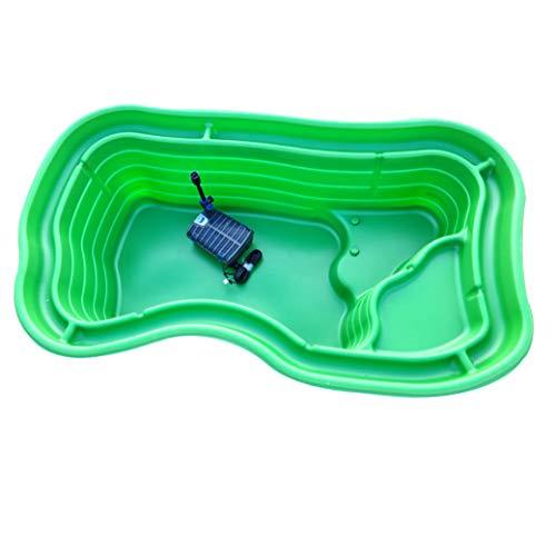 Giardini d'Acqua Laghetto da Giardino Grande Kit MOD. Maggiore + Filtro Interno Gda Uvc 6000 Stagno Artificiale Pompa Inclusa