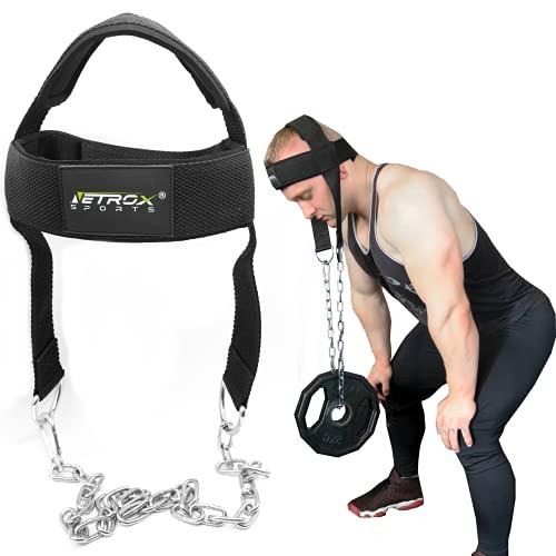 Kopf Hals und Nackentrainer verstellbar   perfekt für einen trainierten Nacken   einfach und effektiv Nacken Trainieren   Kraftsport und Kampfsport