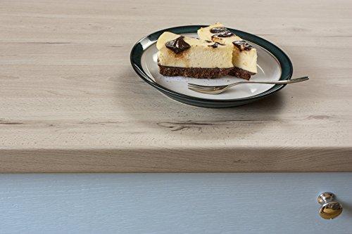 WORKTOPEXPRESS Helles Holz - Resopal Küchenarbeitsplatten (3m × 900mm × 38mm)