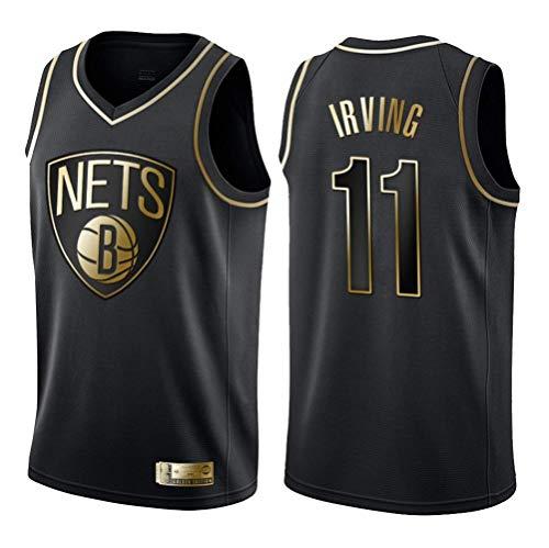 NBA Trikot,Männer Frauen Jersey - NBA Brooklyn Nets 11# Irving Jerseys Breath gestickte Basketball Swingman Jersey