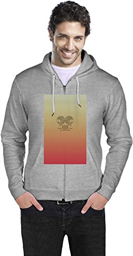 Lorde Lyrics Mens Zipper Hoodie XX-Large