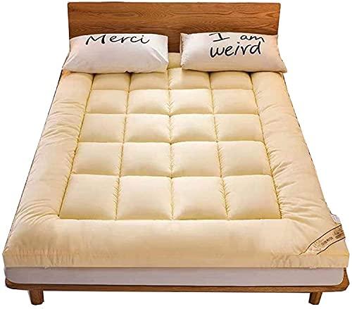 Colchón plegable del piso del futón, Futón plegable japonés del colchón plegable doble plegable almohadilla de colchón de piso japonés espesa tatami estera dormir enrollar el rollo for el tapón durade