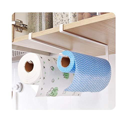 eujiancai 1pc Tea Cup Mug Holder Under Shelf Cup Hanger Drying Rack 6 Hooks Towel Holder Cabinet Organizer White White