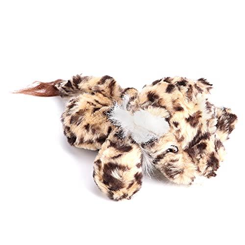 Leopardo Perro Juguete, Hecho de Felpa Mascota Juguetes Anillo Papel Chirriador Perro por Perros