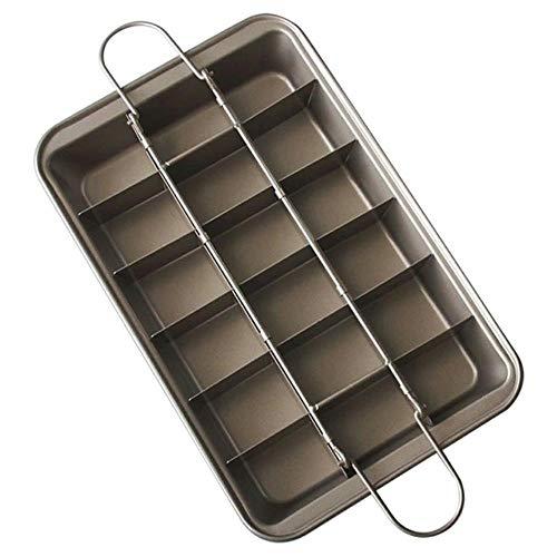 Moule à gâteau Moule à biscuits Outils de cuisson Plaque de cuisson antiadhésive plate en acier lourd Plaque de cuisson antiadhésive rectangulaire Accessoires de cuisine, Marron, Chine