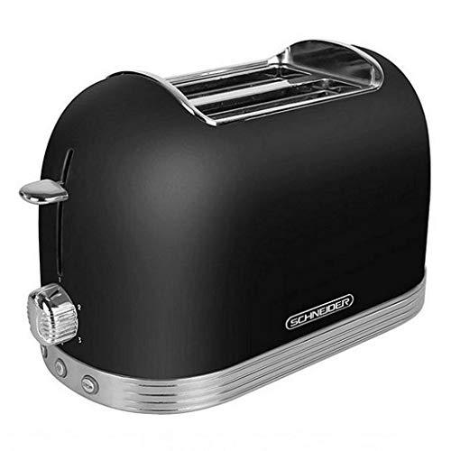 Schneider Toaster SL T2.2 B, schwarz/Chrom