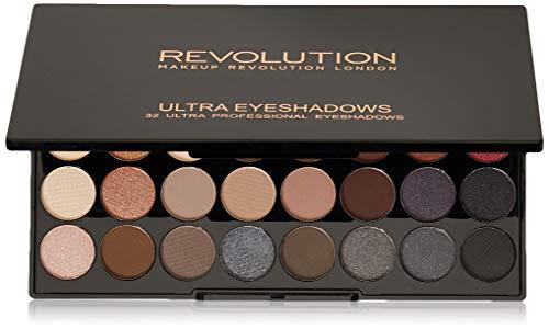 Makeup Revolution London Ultra 32 Lidschatten Palette Flawless 2, 700 g