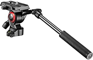 Best Manfrotto MVH400AHUS Lightweight, Travel Friendly Be Free Live Fluid Video Head, Black Review