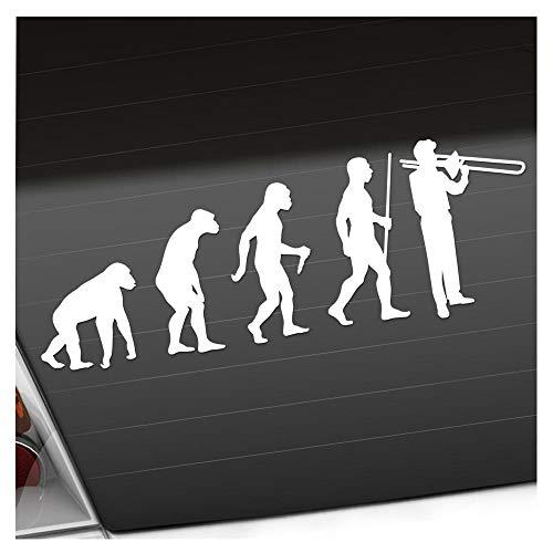 Kiwistar Posaune Trompette Evolution Stickers 25 Couleurs Fluo Mat