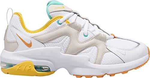 Nike Damen AIR MAX GRAVITON Sneaker, Weiß (White/Amber Rise-Aurora Green 107), 40 EU