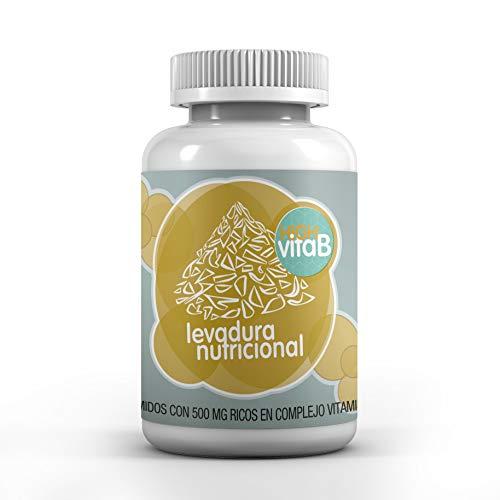 Energy Feelings Levadura Vitamina B 60 comprimidos de 500mg vitamina B12 vitaminas B zinc, 60 g