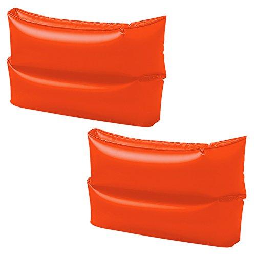 Intex 59642 - Braccioli Tinta Unita, 25 x 17 cm, Arancione
