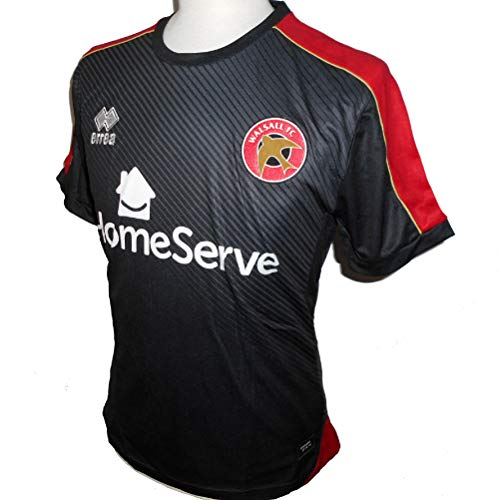 Errea Walsall FC Men's Away Football Shirt 2017-2018 (Small)