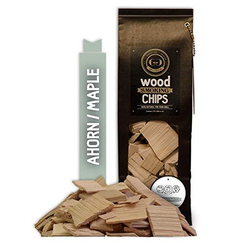 GRILLGOLD Wood Smoking Chips Ahorn Räucherchips Maple
