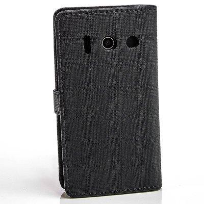 numerva Bookstyle Handytasche kompatibel mit Huawei Ascend Y300 Schutzhülle PU Ledertasche für Huawei Ascend Y300 Hülle mit Kartenfach Schwarz - 3
