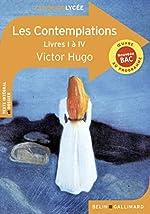 Les Contemplations - Livres I à IV de Victor Hugo