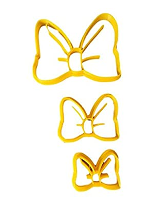 Cute Bow Cookie Cutter Style (All sizes)
