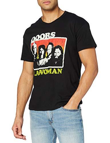 Rockoff Trade LA Woman T-Shirt, Noir (Black), XL Homme
