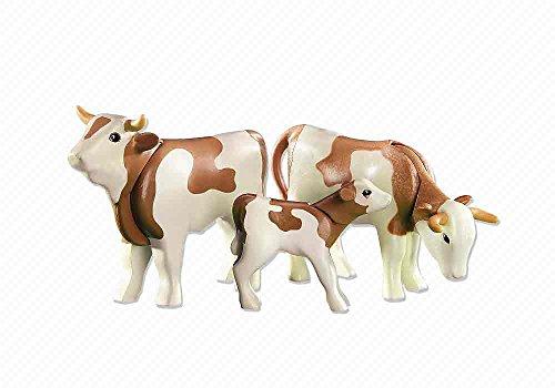 Playmobil 6356. 2 vacas con ternero