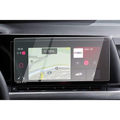 CDEFG para V W Golf 8 2020 Protector de Pantalla de Vidrio Templado, 10 pulgadas HD Auto 9H GPS Navi película protegida Glass